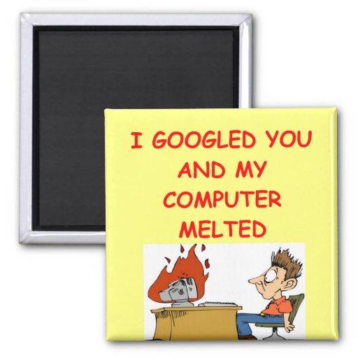 google love 2 inch square magnet