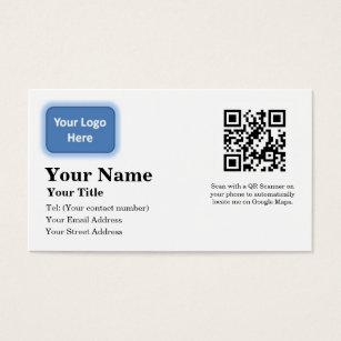 Google business cards templates zazzle google maps locator business card colourmoves Images
