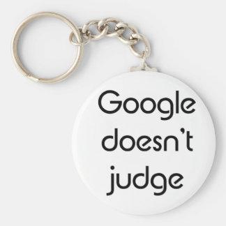 Google no juzga llaveros