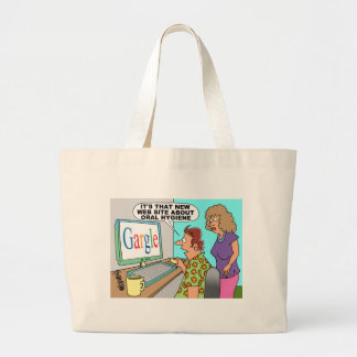 Google Parody Cartoon Bag