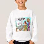 Google Parody Cartoon Sweatshirt
