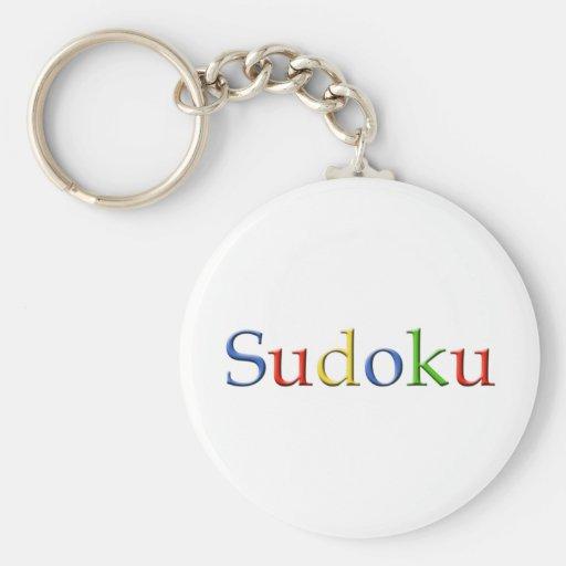 Google Sudoku Keychain