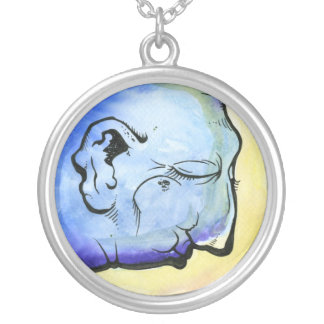 Google_Z Silver Plated Necklace