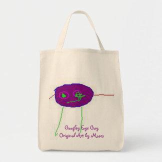 Googley Eye Guy Tote Bag