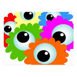 Googlie Eyes Postcard