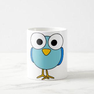 Googly Eyed Bird Mug
