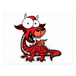 Googly_Eyed_DRAGON Post Cards