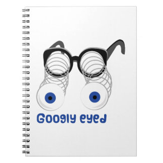 Googly Eyed Note Book