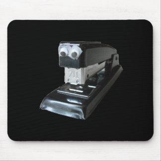 Googly-eyed Stapler Mousepad