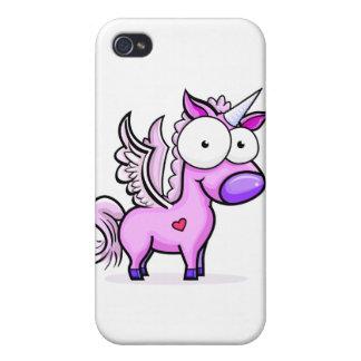 Googly_Eyed_Unicorn iPhone 4 Cases