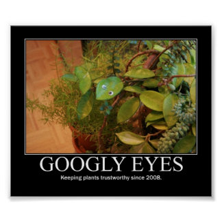 Googly Eyes Poster