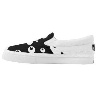 Googly Eyes Slip-On Sneakers
