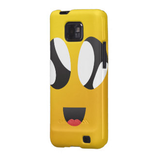 googly Eyes Smiley Samsung Galaxy S2 Case