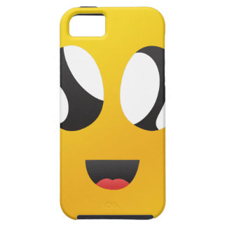 googly Eyes Smiley iPhone 5 Case
