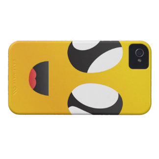 googly Eyes Smiley iPhone 4 Case-Mate Cases