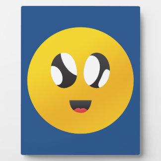 googly Eyes Smiley Plaque