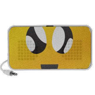 googly Eyes Smiley Portable Speakers