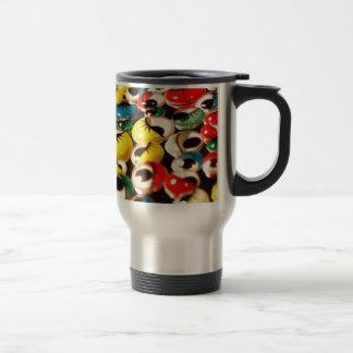 Googly eyes travel mug