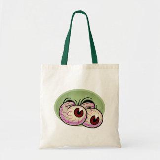 Googly Monster Eyes Tote Bag