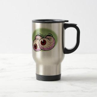 Googly Monster Eyes Travel Mug