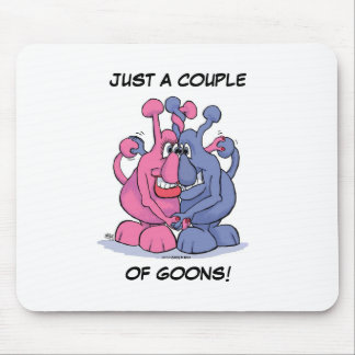 Goon Couple Mouse Pad