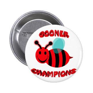 gooner bee champions 2 inch round button