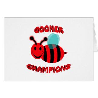 gooner bee champions card