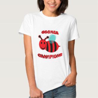 gooner bee champions t shirt