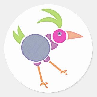 Gooney Bird Round Stickers