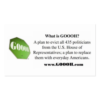 GOOOH buisness card01 Double-Sided Standard Business Cards (Pack Of 100)