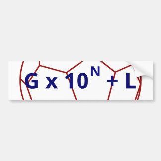 Goooooooooooool! Bumper Sticker
