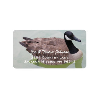 Goose Address Labels