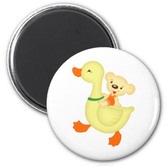 goose and bear magnets