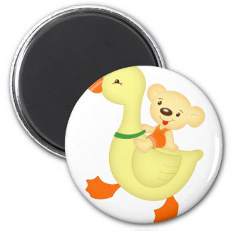 goose and bear refrigerator magnets