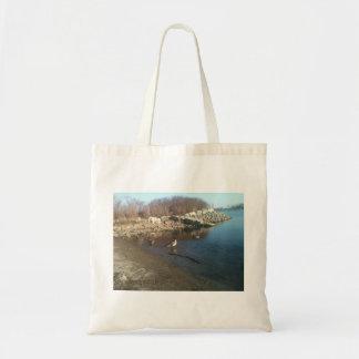 Goose and Ducks Tote Bag