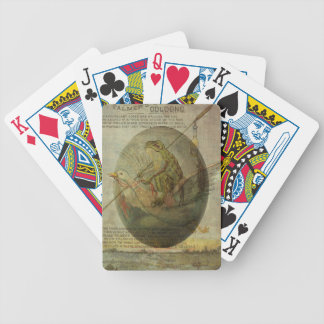 Goose and Frog's Easter Journey Bicycle Playing Cards