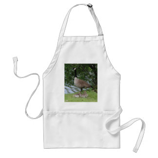 Goose and Goslings Adult Apron