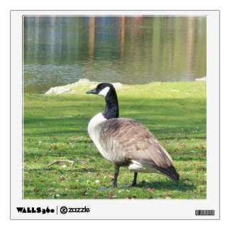 Goose at the waterfront, Wildlife Wall Decal