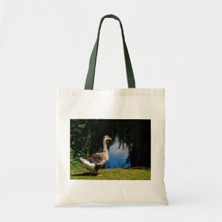 Goose at Water's Edge Shopping Bag