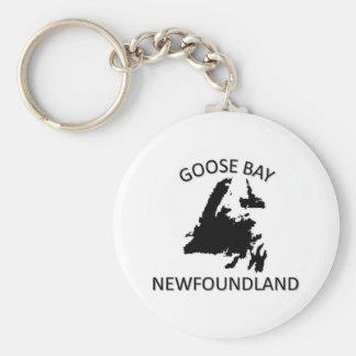 Goose Bay Keychain