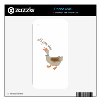 Goose Chase Skins For iPhone 4