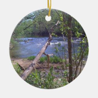 Goose Creek 2 Ceramic Ornament