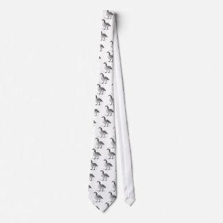 Goose Design Neck Tie
