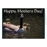 Goose Family Mothers Day Card