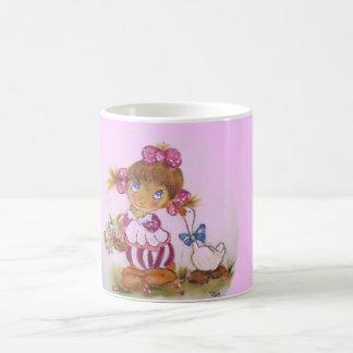 Goose girl coffee mug