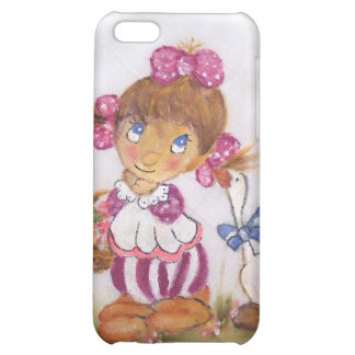 Goose girl iPhone 5C cover