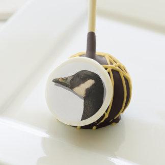 Goose Head Cake Pops