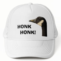 Goose head honk honk hat