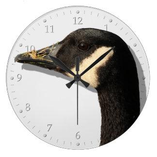 Goose Head Large Clock