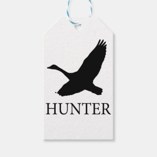 Goose Hunter Gift Tags